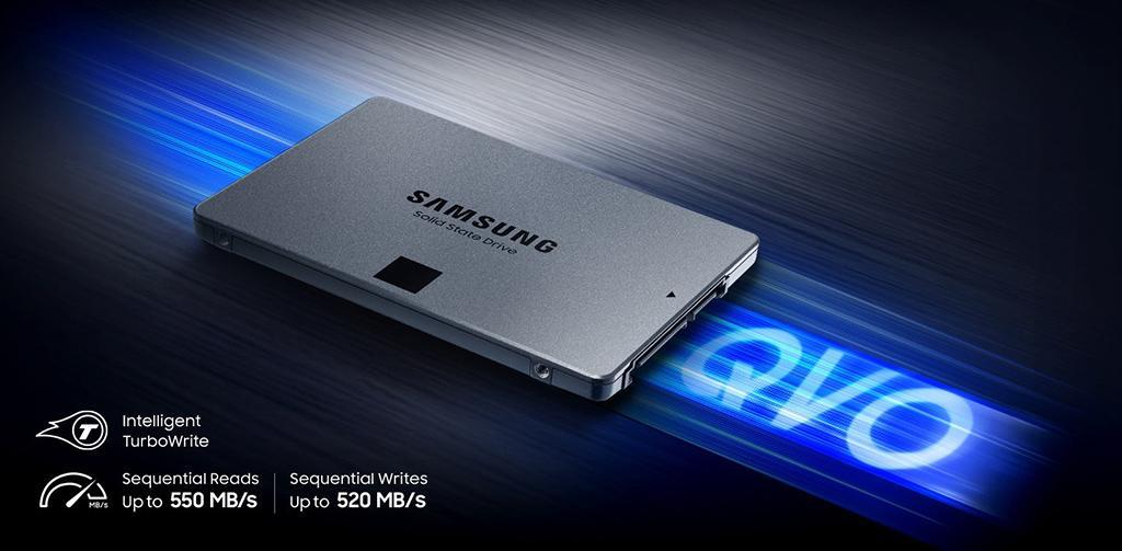 Состоялся официальный релиз накопителей Samsung 860 QVO. 1 ТБ SSD всего за 0