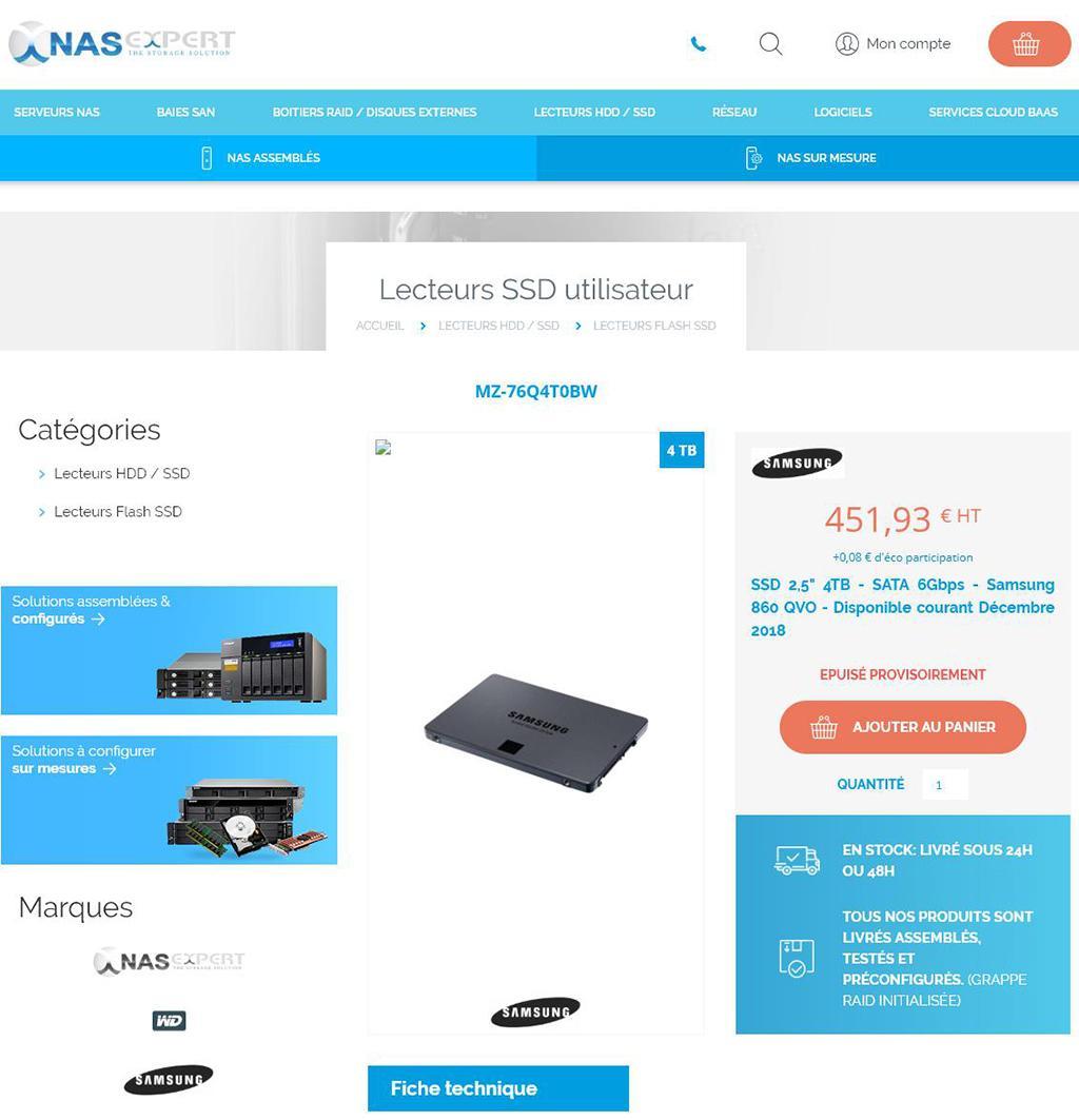 Samsung 860 QVO – первые SSD-накопители на QLC-памяти от Samsung