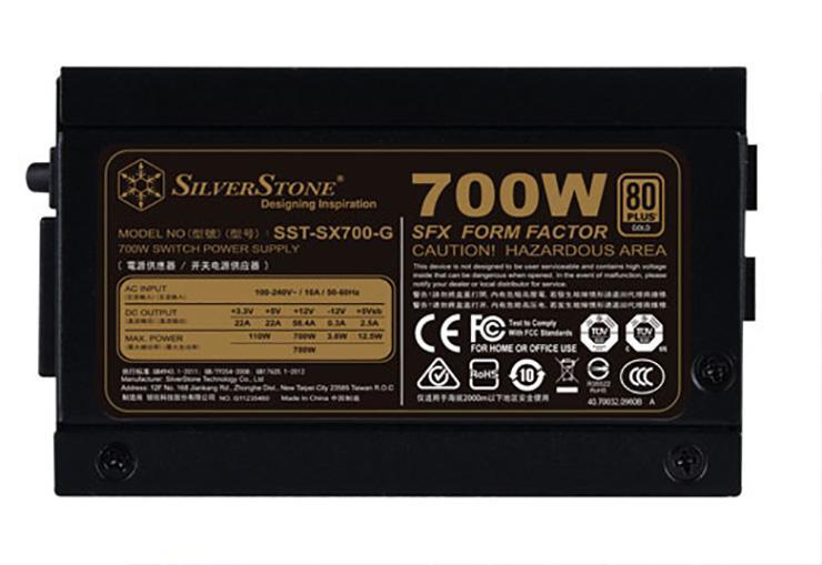 SilverStone представила SFX-блок питания SX700-G