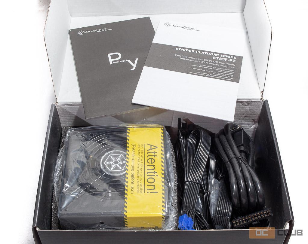 Обзор блока питания SilverStone Strider Platinum 850. Самые-самые компактные 850 ватт