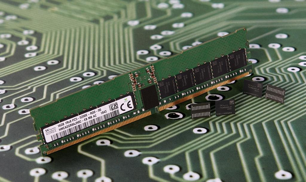 У SK Hynix готовы 16 ГБ «планки» оперативной памяти DDR5