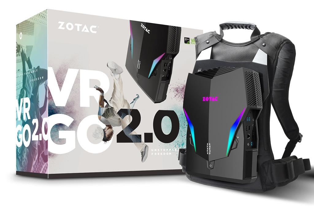 Возьми VR с собой: Zotac представила VR Go 2.0