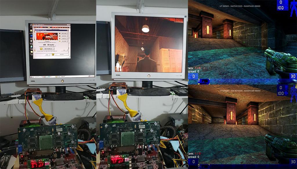 Видеокарта 3dfx Rampage протестирована в играх и 3DMark