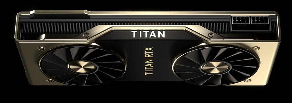 NVIDIA анонсировала Titan RTX: 24 ГБ видеопамяти и $2500