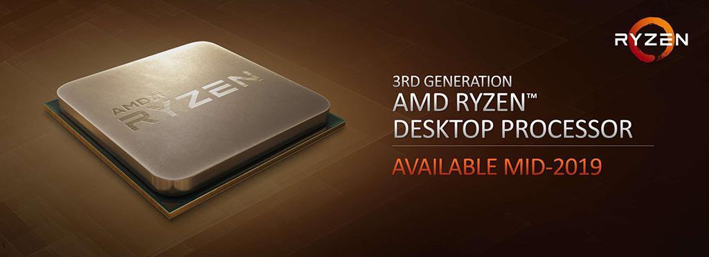 AMD рассказала про процессоры Ryzen 3000. 8-ядерник тягается с Core i9-9900K