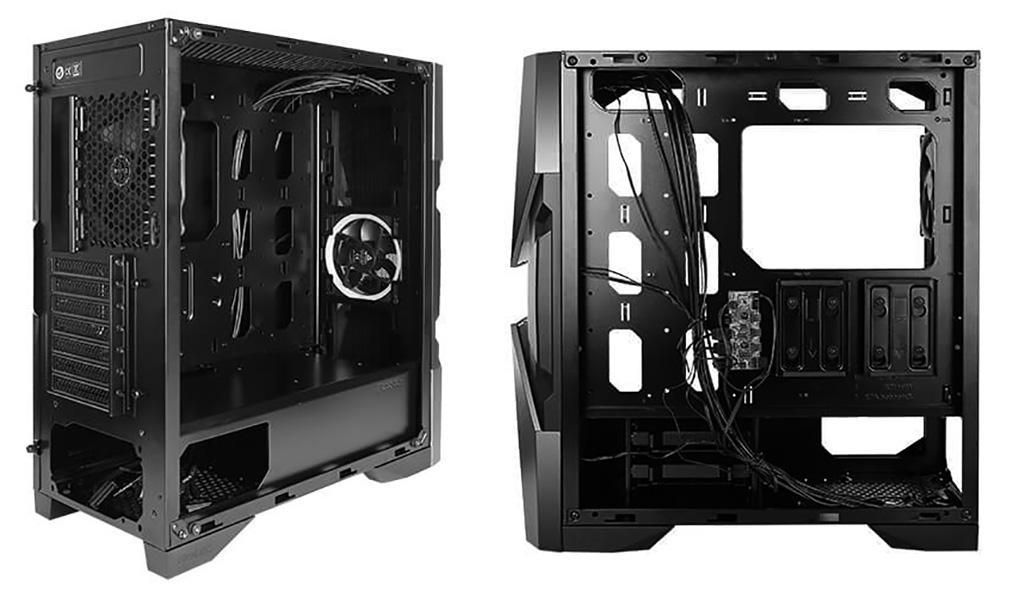 Antec DA601 – недорогой корпус с ARGB-подсветкой, закалённым стеклом, и замысловатой передней панелью
