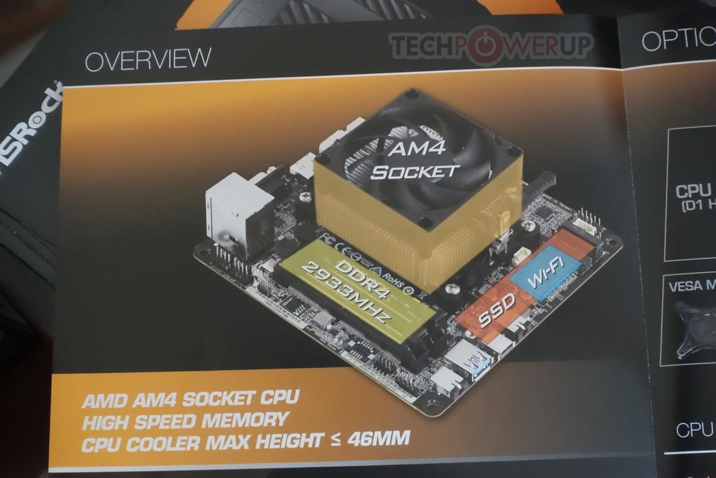 CES 2019: ASRock DeskMini A300 – первый в мире mini-STX ПК для гибридных процессоров AMD