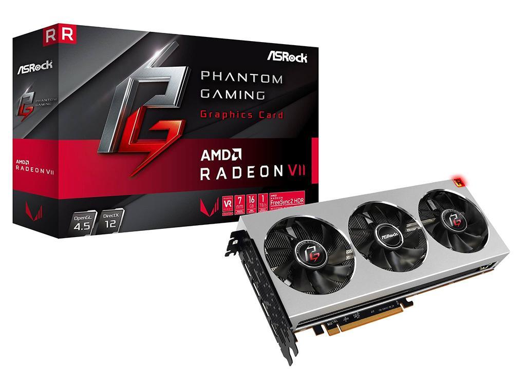 ASRock представила Radeon VII Phantom Gaming