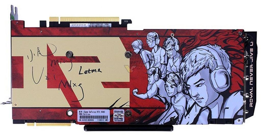 Colorful выпускает видеокарту GeForce RTX 2080 (Ti) iGame RNG Edition с полноцветным ЖК-дисплеем