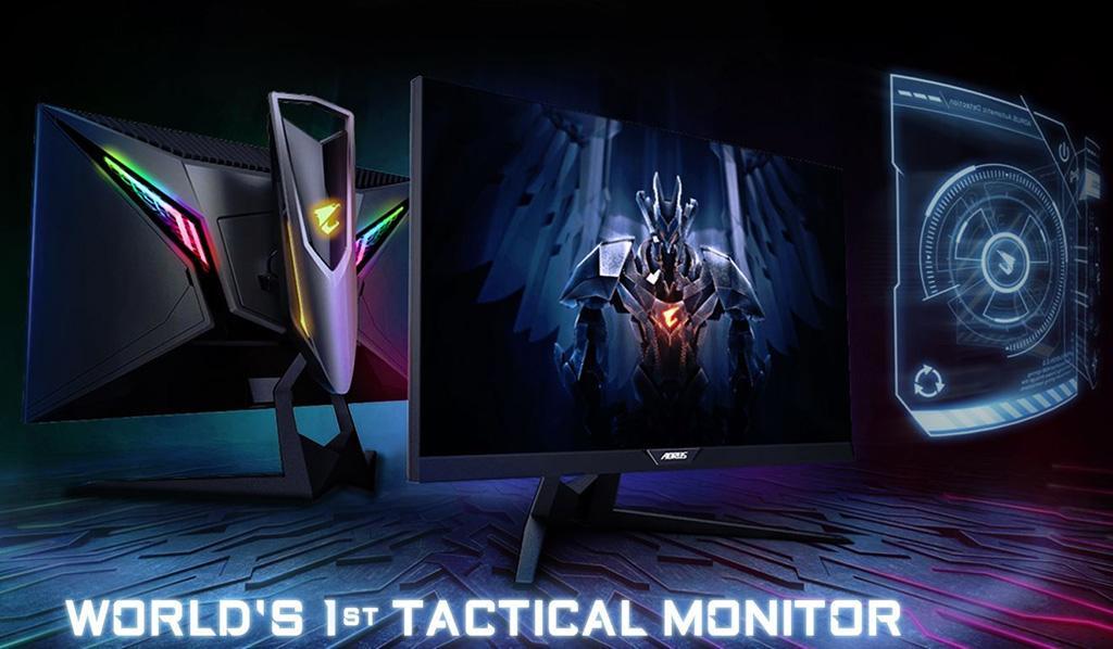 Монитор Gigabyte Aorus AD27QD официально представлен