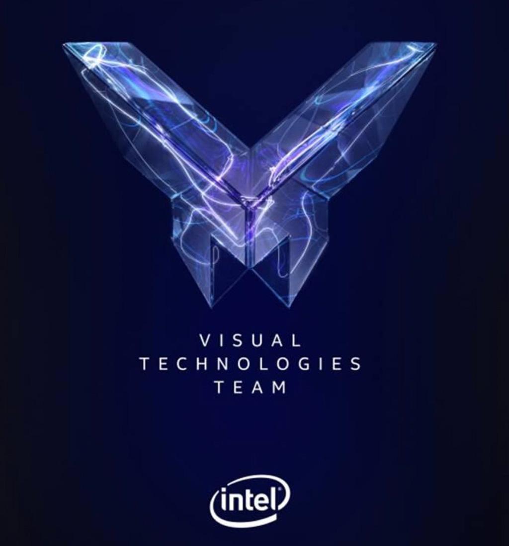 Логотип Intel Visual Technologies Team напоминает лого AMD Vega