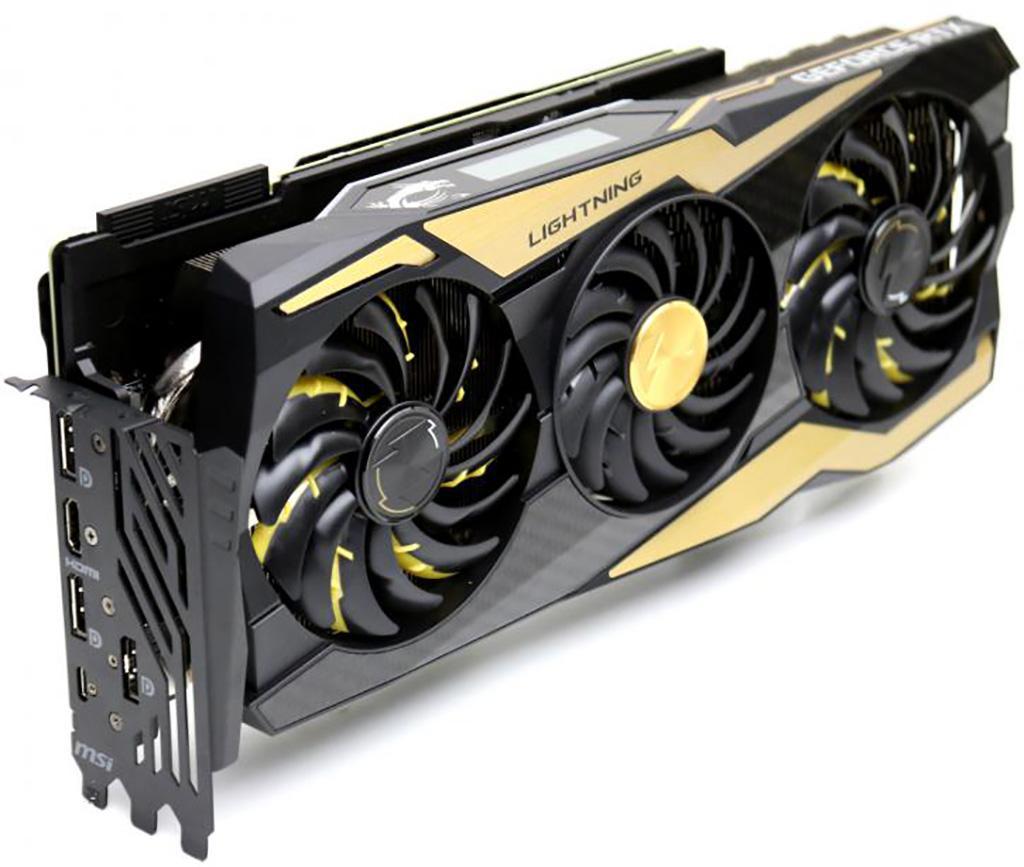 MSI GeForce RTX 2080 Ti Lightning отличилась в режиме экстремального разгона