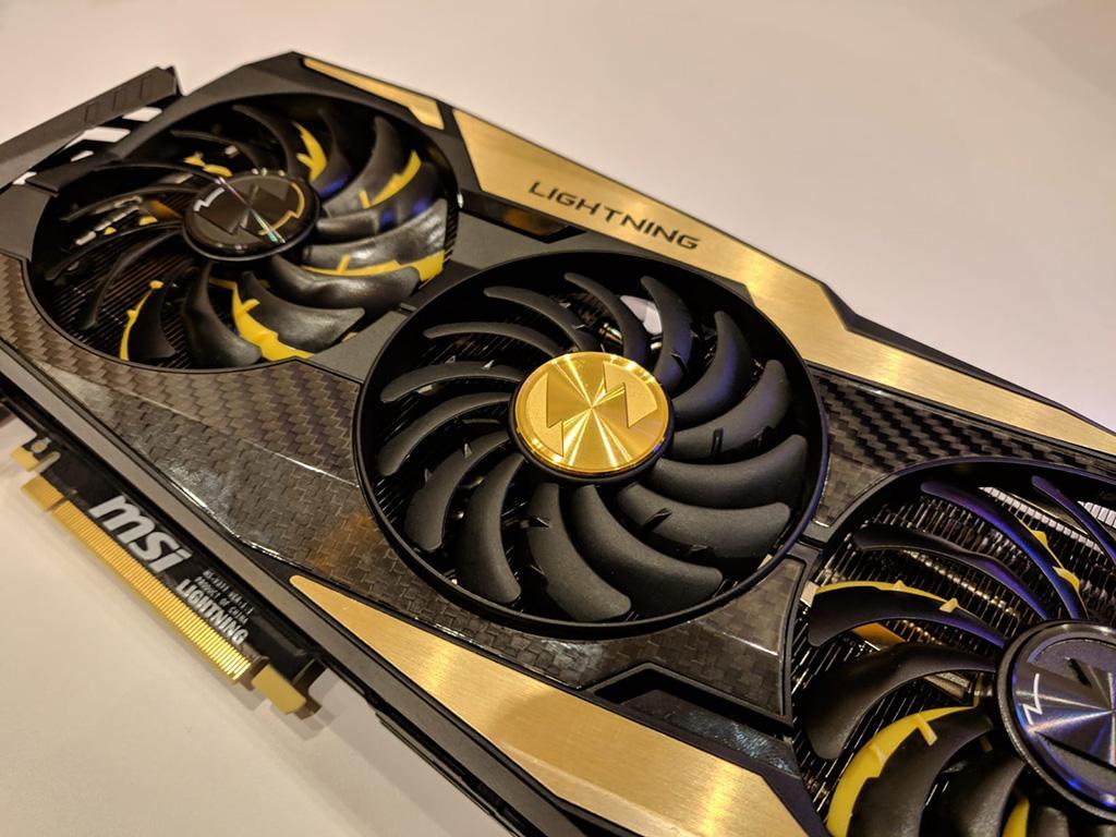 Фото видеокарты MSI GeForce RTX 2080 Ti Lightning Z