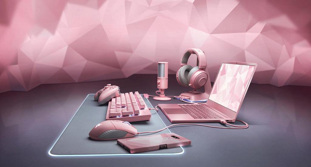 Ко дню Валентина Razer предлагает обзавестись розовой периферией Quartz Edition