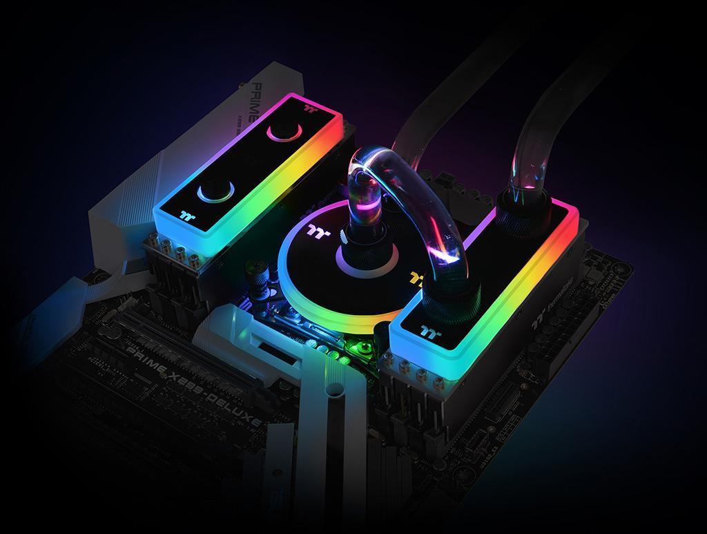 Thermaltake выпускает комплекты памяти WaterRam RGB DDR4-3200 с водоблоком