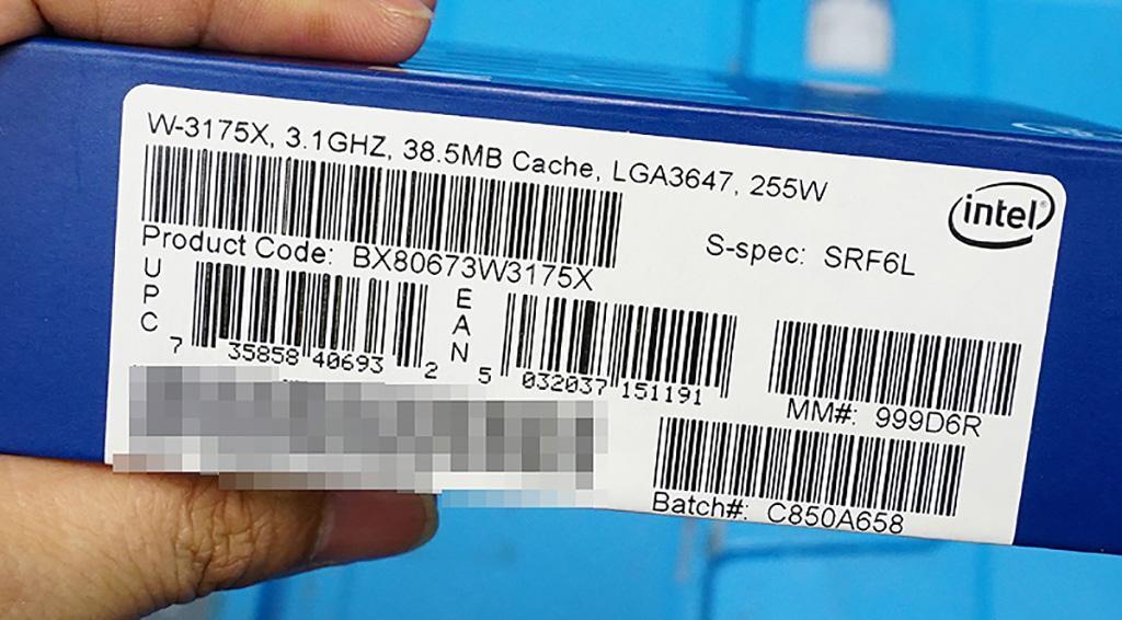 Intel расщедрилась на особую гарантию на Xeon W-3175X, а рекомендованная цена сильно далека от реальной