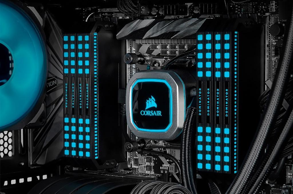 Corsair выпускает наборы памяти Dominator Platinum RGB DDR4