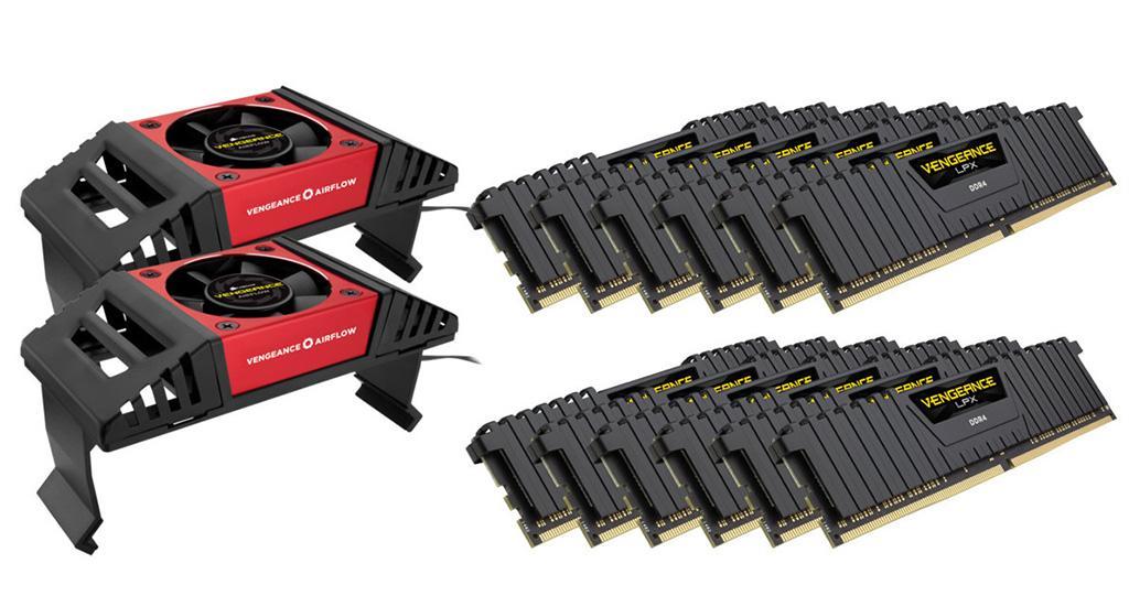 Corsair выпускает 192-гигабайтные комплекты ОЗУ Vengeance LPX DDR4. Топовый набор оценён в $3000