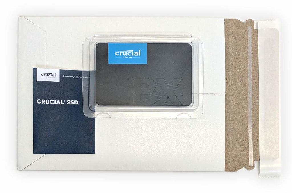 Crucial занедорого предлагает 960-гигабайтный вариант SSD BX500 c TLС-памятью