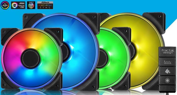 Prisma – разнообразная серия вентиляторов от Fractal Design