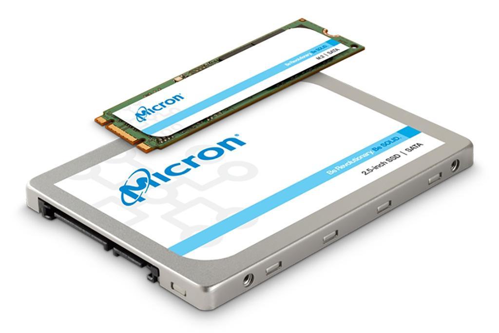 Micron представила SSD 1300 на базе 96-слойных чипов TLC NAND