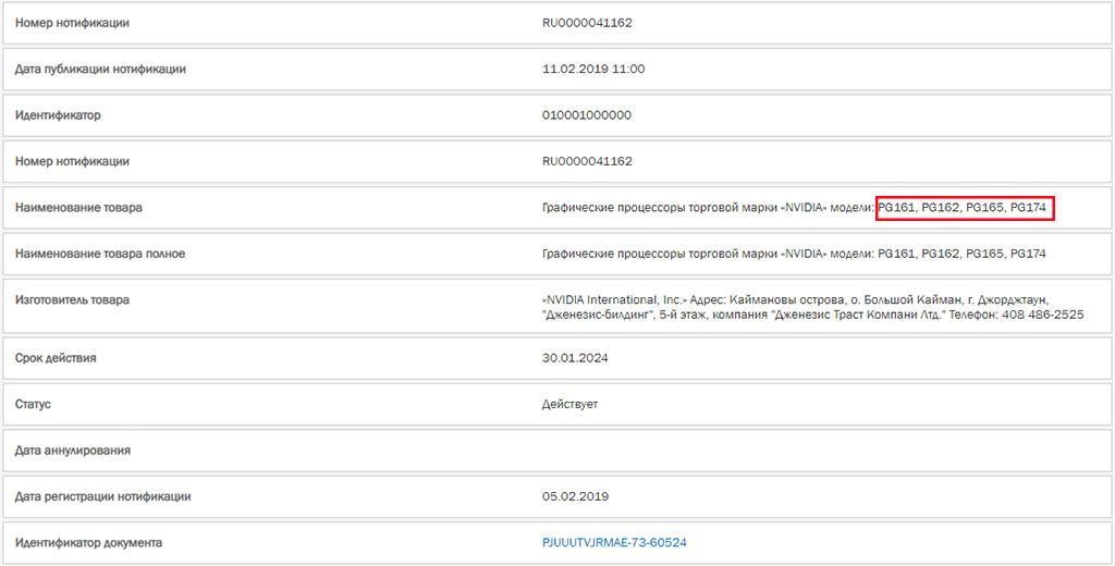 Найдены упоминания видеокарт NVIDIA Turing без «лучей», и это не GTX 1660 (Ti)