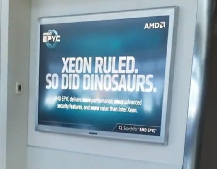 Процессоры AMD Epyc в 2020 году отъедят у Intel 10% серверного рынка