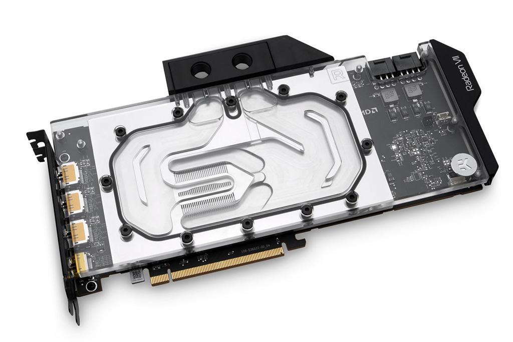 EKWB предлагает водоблоки для AMD Radeon VII и алюминиевые «ватеры» для видеокарт GeForce RTX