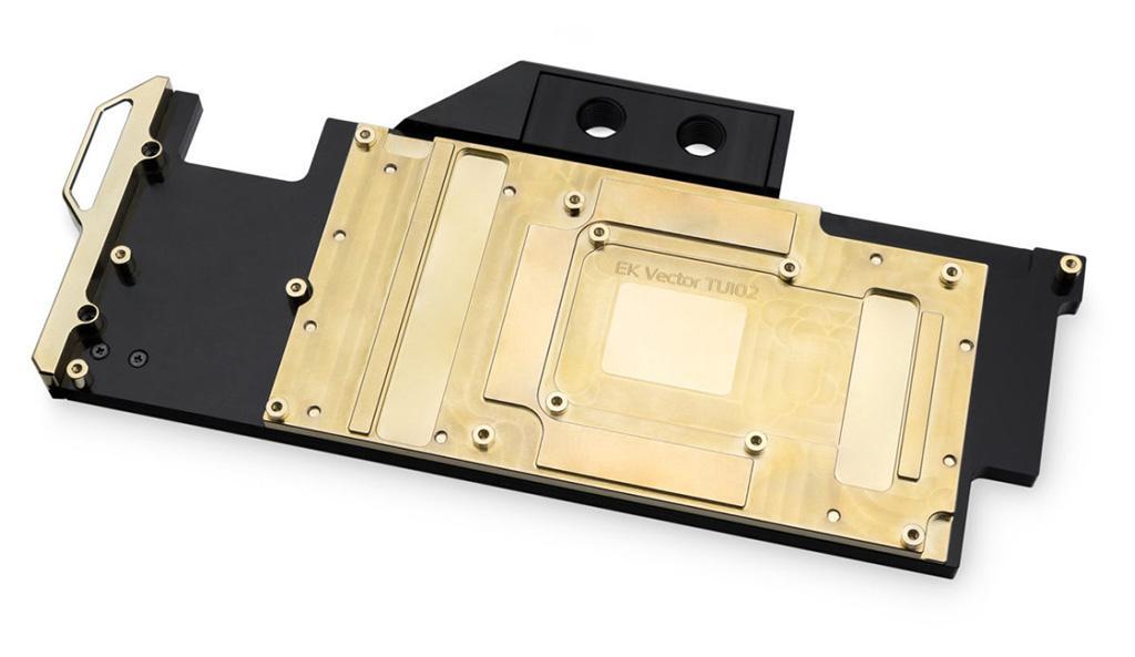EKWB выпускает водоблок для Titan RTX с золотым покрытием