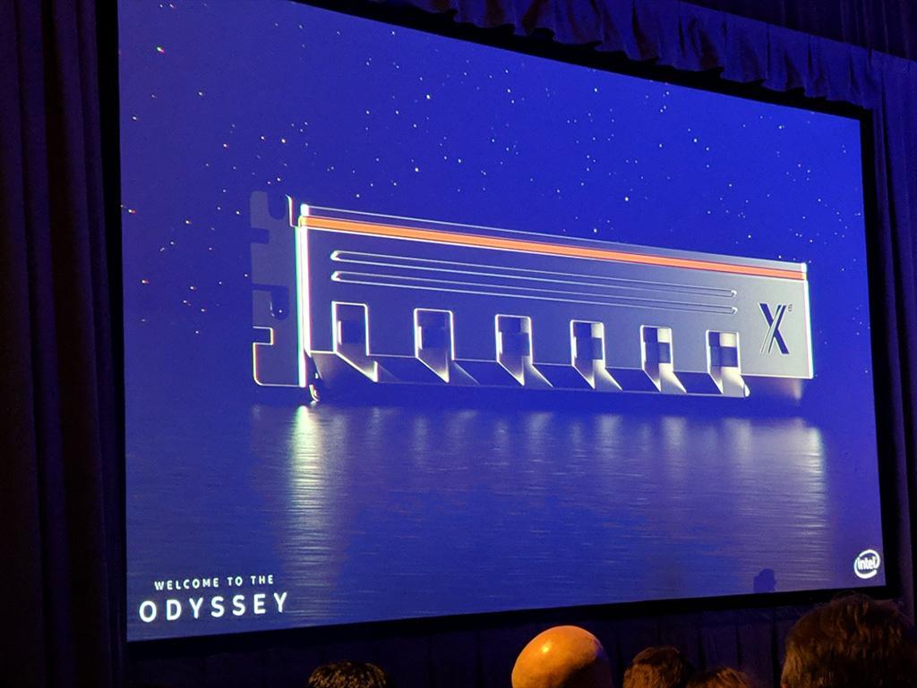 Видеокарты Intel на официальных рендерах