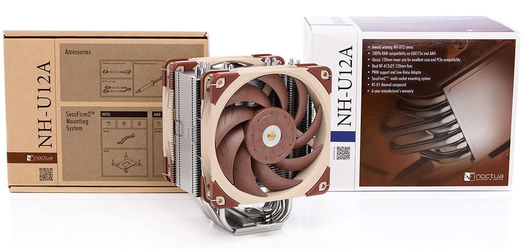Noctua выпустила процессорный кулер NH-U12A