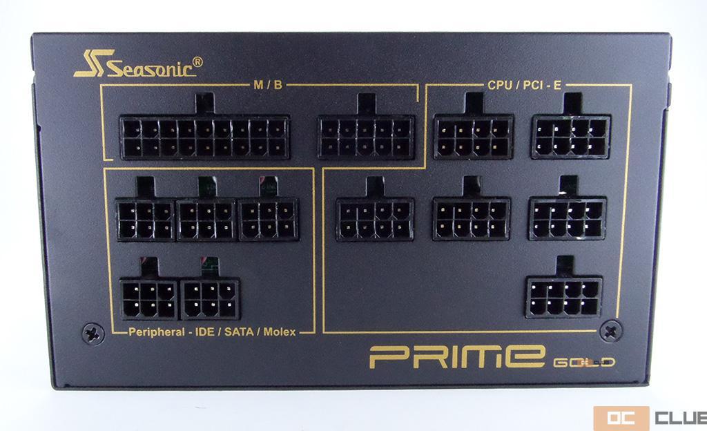 "Обзор блока питания SeaSonic Prime Ultra Gold 1000 Вт. 80 PLUS Gold в исполнении ""топ жир"""