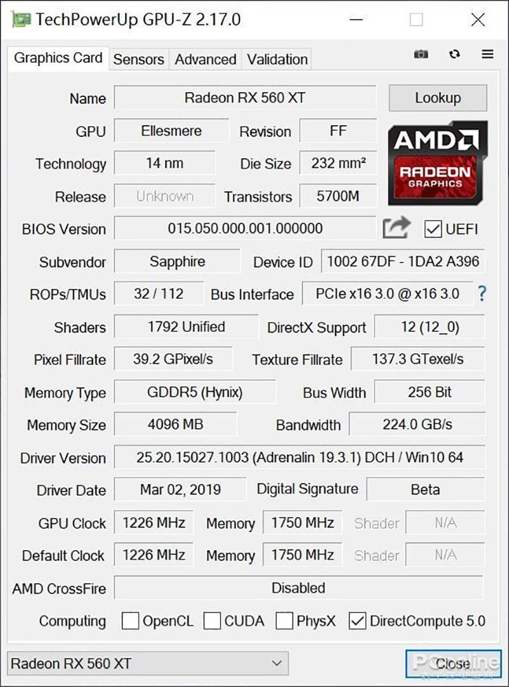 AMD Radeon RX 560 XT базируется на GPU Polaris 20