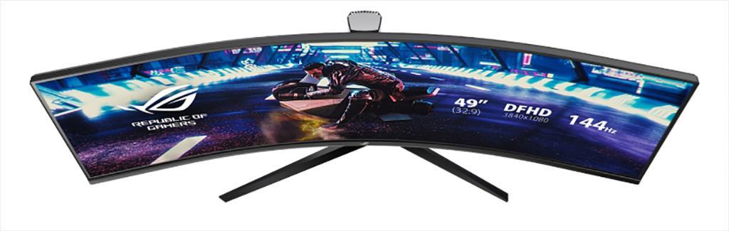 49-дюймовый игровой монитор ASUS ROG Strix XG49VQ – как два 27-дюймовых монитора в одном корпусе