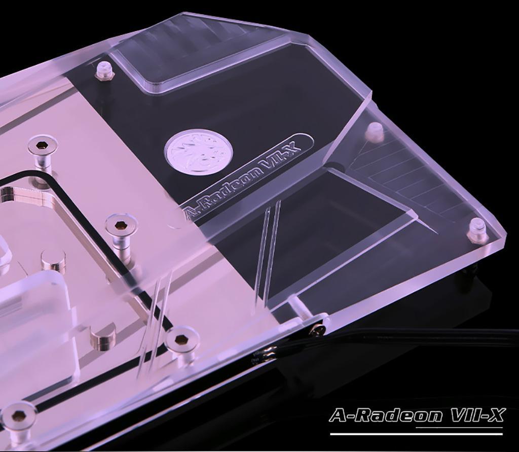 Bykski предлагает full-cover водоблок для AMD Radeon VII