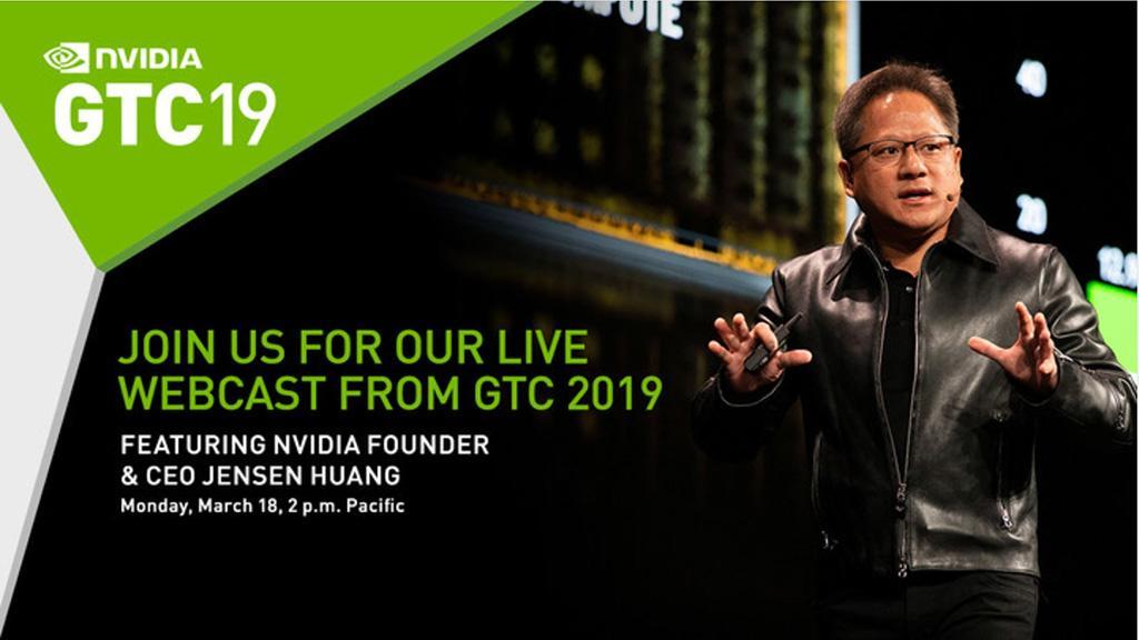 На GTC 2019 NVIDIA расскажет про следующее поколение видеокарт