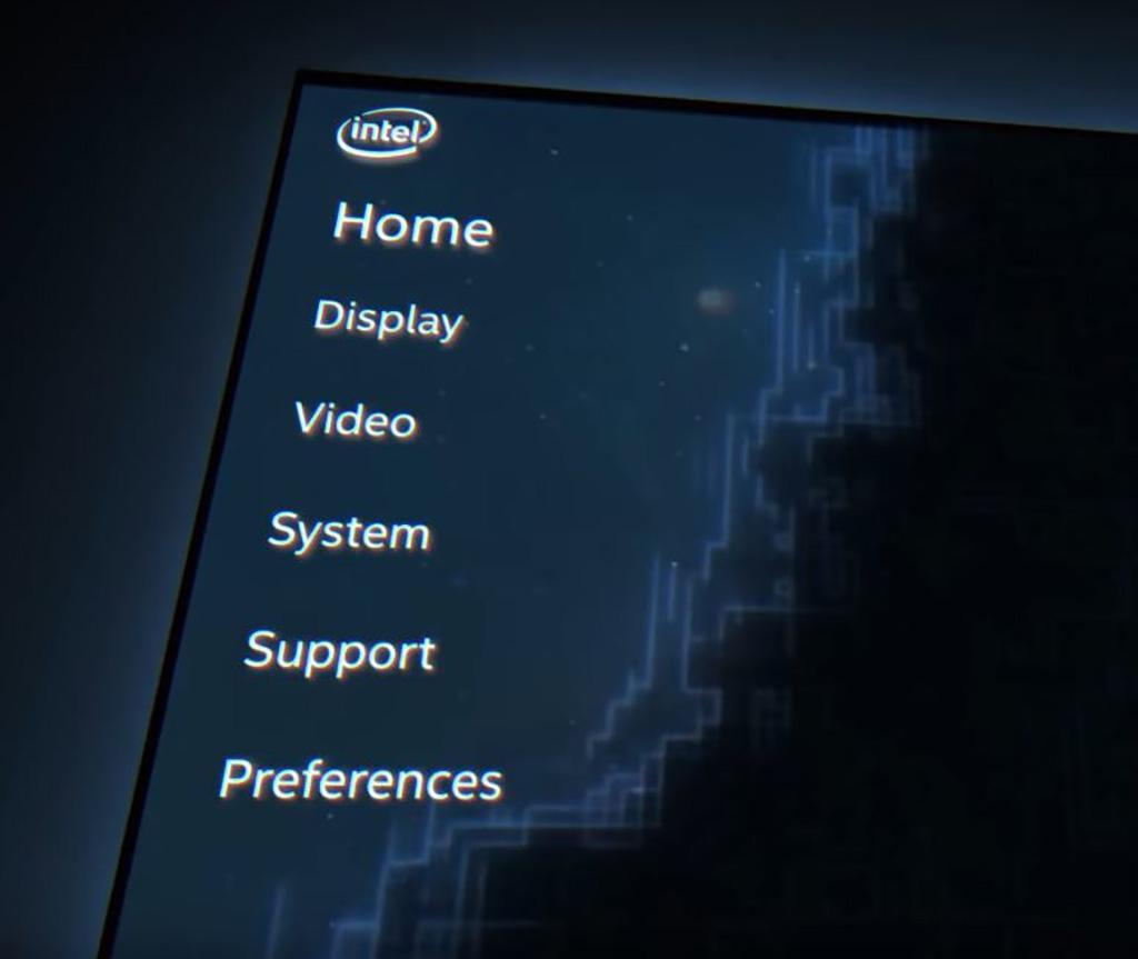Intel Graphics дразнит геймеров новой удобной панелью управления