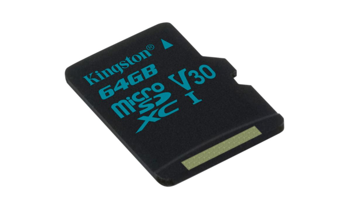 Обзор microSDXC карты памяти Kingston Canvas Go! объёмом 64 ГБ