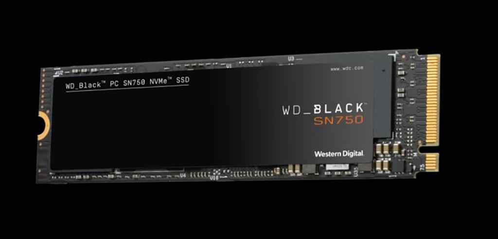 Начались продажи геймерских NVMe-накопителей Western Digital WD Black SN750