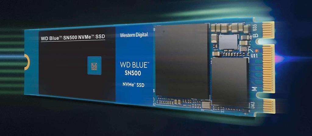 NVMe-накопители Western Digital WD Blue SN500 очень радуют ценником