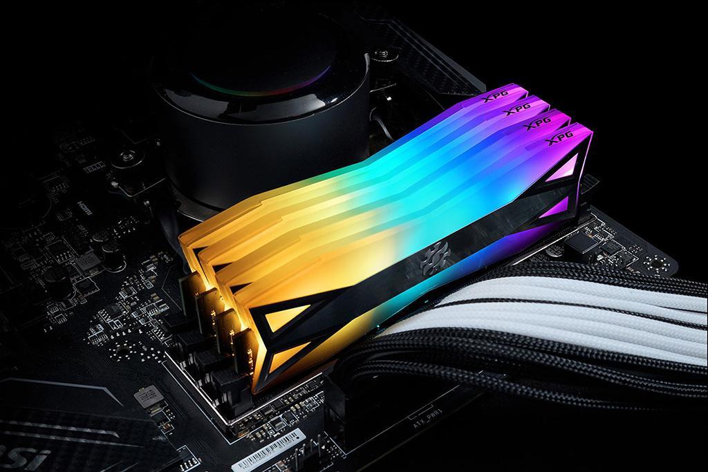 ADATA XPG Spectrix D60G RGB - самые «освещаемые» модули памяти