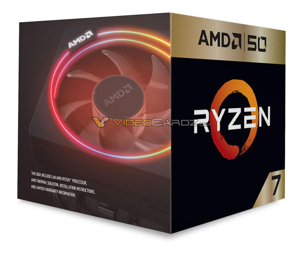 Фото AMD Ryzen 7 2700X 50th Anniversary Edition: подписано Лизой Су