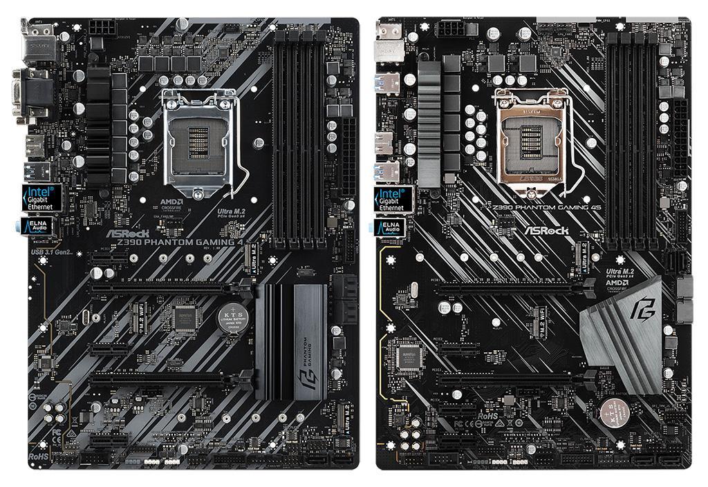 ASRock Z390 Phantom Gaming 4S – возможно, самая дешёвая плата на чипсете Intel Z390