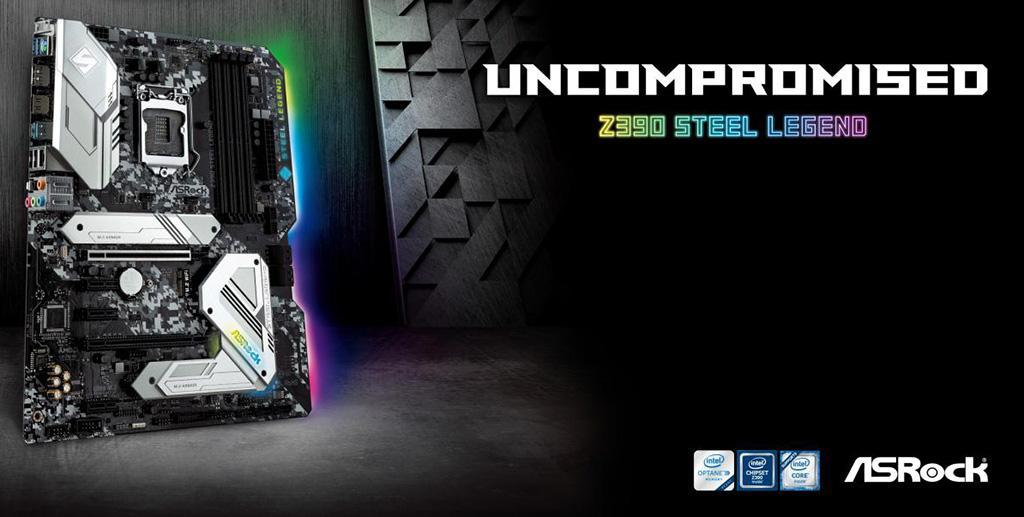 Скоро в продаже появится материнская плата ASRock Z390 Steel Legend
