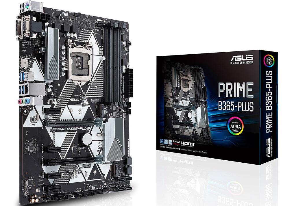 Материнская плата ASUS Prime B365-Plus скоро появится в продаже