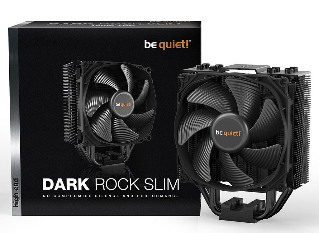 Be Quiet! анонсирует процессорный кулер Dark Rock Slim
