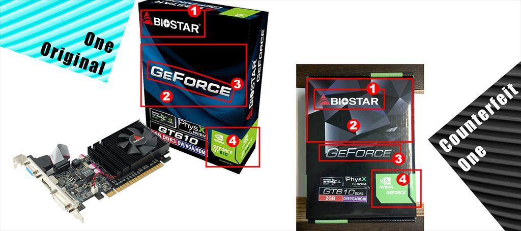 Вот это заявление: некоторые видеокарты Biostar кто-то подделывает