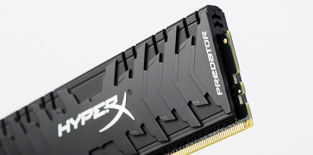 HyperX выпустила скоростные комплекты памяти Predator с частотой 4266 и 4600 МГц