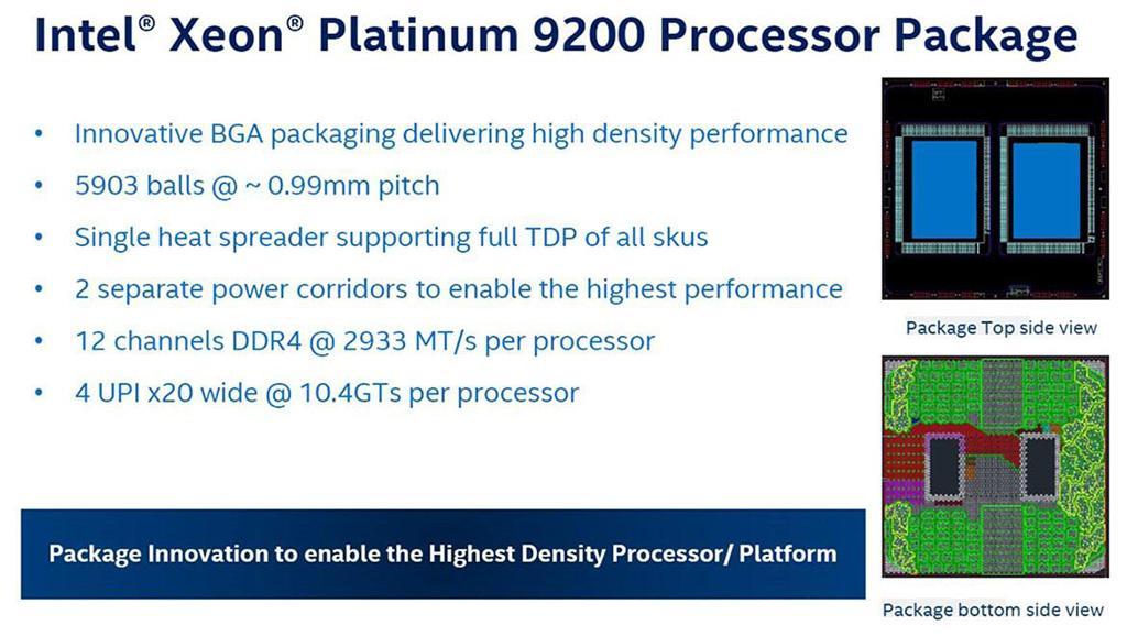 Intel представила серверные процессоры Xeon Scalable второго поколения