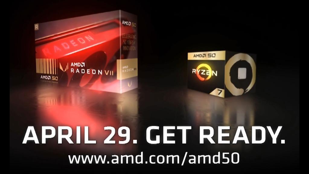 К юбилею AMD готовит Radeon VII в красном исполнении